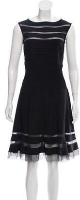Tadashi Shoji Sleeveless Knee-Length Dress