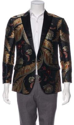 DSQUARED2 2016 Silk-Trimmed Blazer