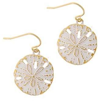Wild Lilies Jewelry Sand Dollar Earrings