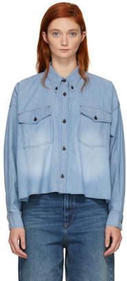 Etoile Isabel Marant Blue Lelora Shirt
