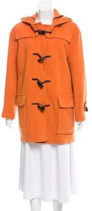 Burberry Short Toggle Coat