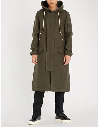 Rick Owens Mega wool parka coat