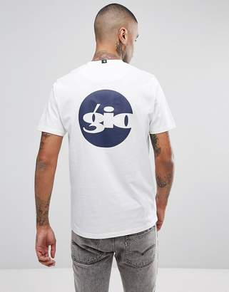 Gio-Goi T-Shirt With Logo Back Print In White
