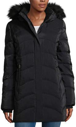 ZeroXposur Woven Hooded Heavyweight Puffer Jacket