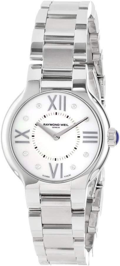 Raymond Weil Women's 5927-ST-00995 Noemia 27 mm Steel 8 Diamonds Watch