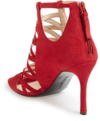 Nine West 'Funkfresh' Strappy Leather Sandal (Women) 4
