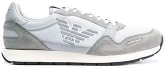 Emporio Armani classic logo sneakers