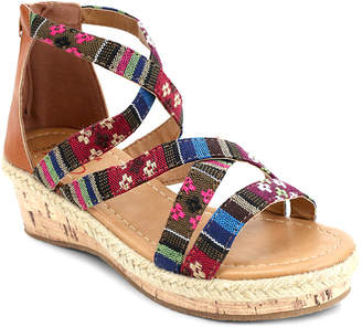 Olivia Miller Girls' Tribal Wedge
