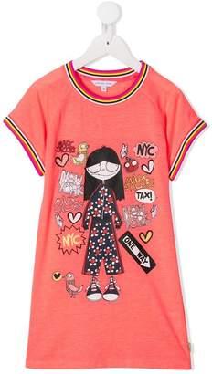 Little Marc Jacobs New York T-shirt dress