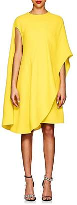 Calvin Klein Women's Silk-Wool Asymmetric T-Shirt Dress - Yellow
