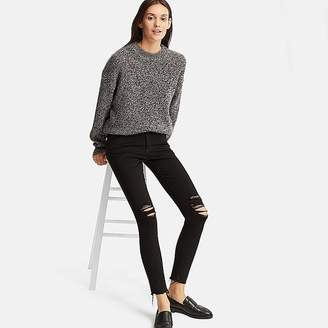 Uniqlo Women's Damaged Ultra Stretch Jeans