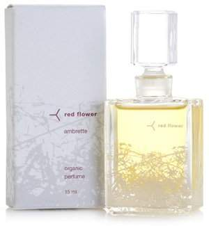 Red Flower 15ml Ambrette Organic Perfume