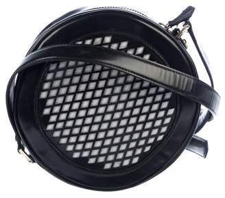 Tory Burch Leather Circle Crossbody Bag