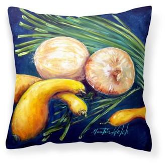 Caroline's Treasures Crooked Neck Squash Fabric Decorative Pillow