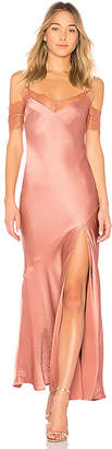 Nicholas Satin Bias Slip Dress