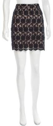 Alice by Temperley Guipure Mini Skirt $50 thestylecure.com
