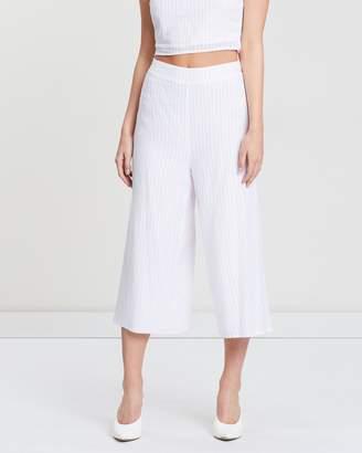 Lolita Stripe Culotte Pants