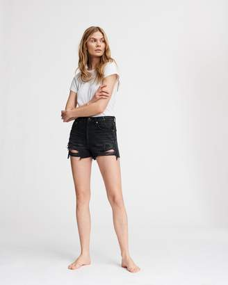 Rag & Bone Maya high-rise short