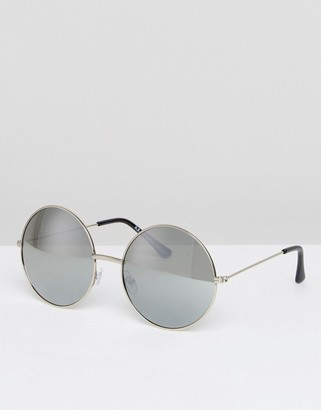 AJ Morgan Oversized Round Sunglasses $19 thestylecure.com