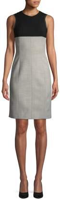 Narciso Rodriguez Women's Melange Back Zip Dress