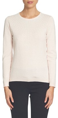 Women's Cece Embellished Pullover $99 thestylecure.com