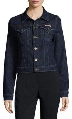 Hudson Buttoned Denim Jacket