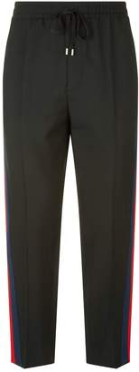 Gucci Webbed Stripe Sweatpants