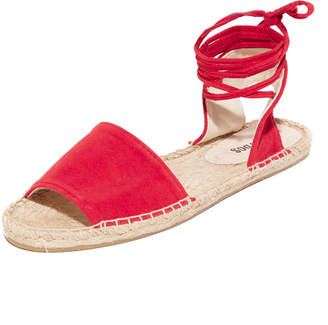 Soludos Balearic Tie Up Sandals $89 thestylecure.com