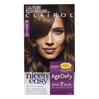 Clairol Nice'n Easy Age Defy Permanent Hair Colour 5G Medium Golden 1 pack