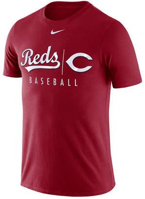 Nike Men Cincinnati Reds Dri-fit Practice T-Shirt