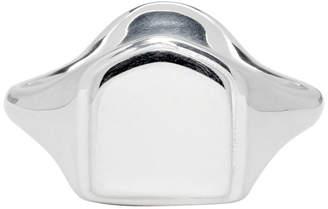 Maison Margiela Silver Signet Ring