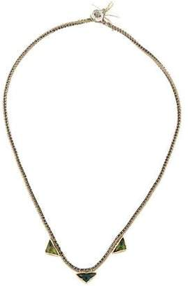 Brooke Gregson Tourmaline Orbit Collar Necklace