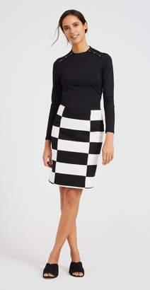 J.Mclaughlin Mitchell Skirt in Stripe