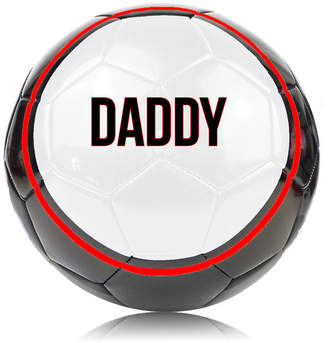 We Print Balls Daddy Or Dad's Football Ball