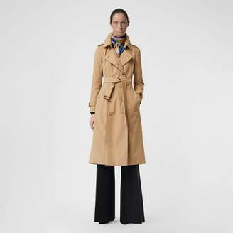 Burberry The Long Chelsea Heritage Trench Coat , Size: 10, Beige