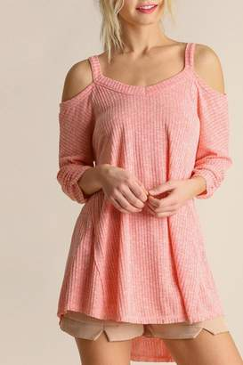 Umgee USA Open Shoulder Tunic