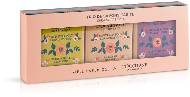 Shea Butter Shea Soap Trio