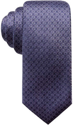 Alfani Men's Natte Slim Silk Tie