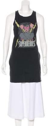 Pierre Balmain Sleeveless Graphic T-Shirt