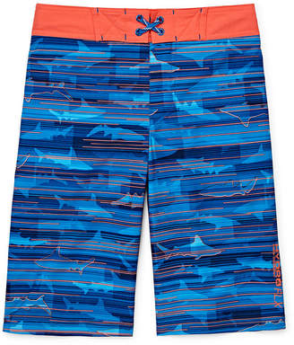 Free Country Shark Swim Trunks - Preschool Boys 4-7