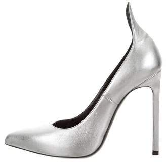 Saint Laurent Leather Metallic Pumps
