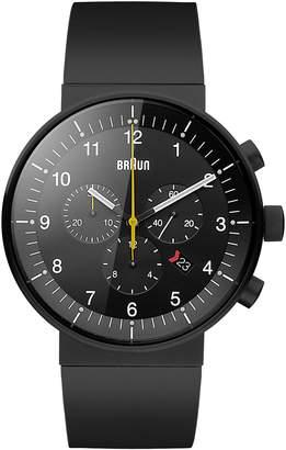 Braun Men's BN0095BKBKBKG Prestige Chronograph Analog Display Swiss Quartz Watch