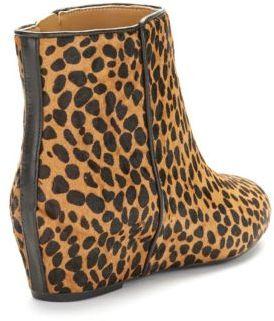 Nine West Metalina Animal Print Ankle Boots