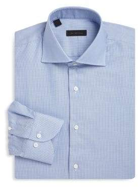 Saks Fifth Avenue COLLECTION Wrinkle Free Cotton Dress Shirt