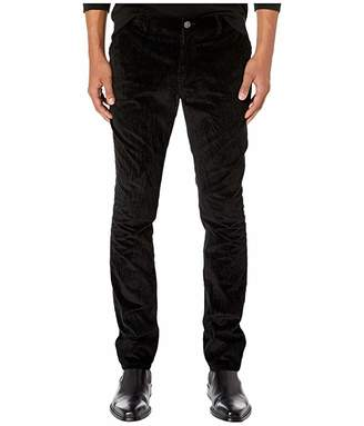 John Varvatos Collection Motor City Fit Jeans with Zip Fly in Black J293V3