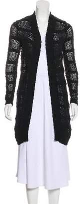 AllSaints Long Sleeve Open-Front Cardigan