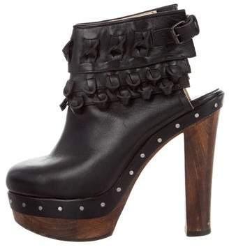 3.1 Phillip Lim Leather Platform Boots