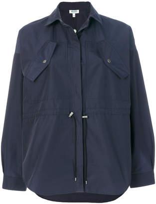 Kenzo drawstring coat
