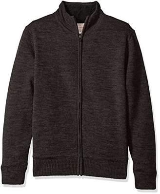 Weatherproof Vintage Men's Full Zip Fleece Lined Sweater Jacket