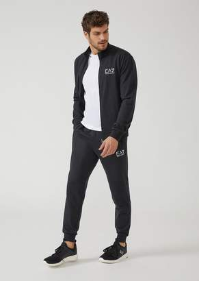 Emporio Armani Ea7 Train Evolution Cotton Spandex Tracksuit